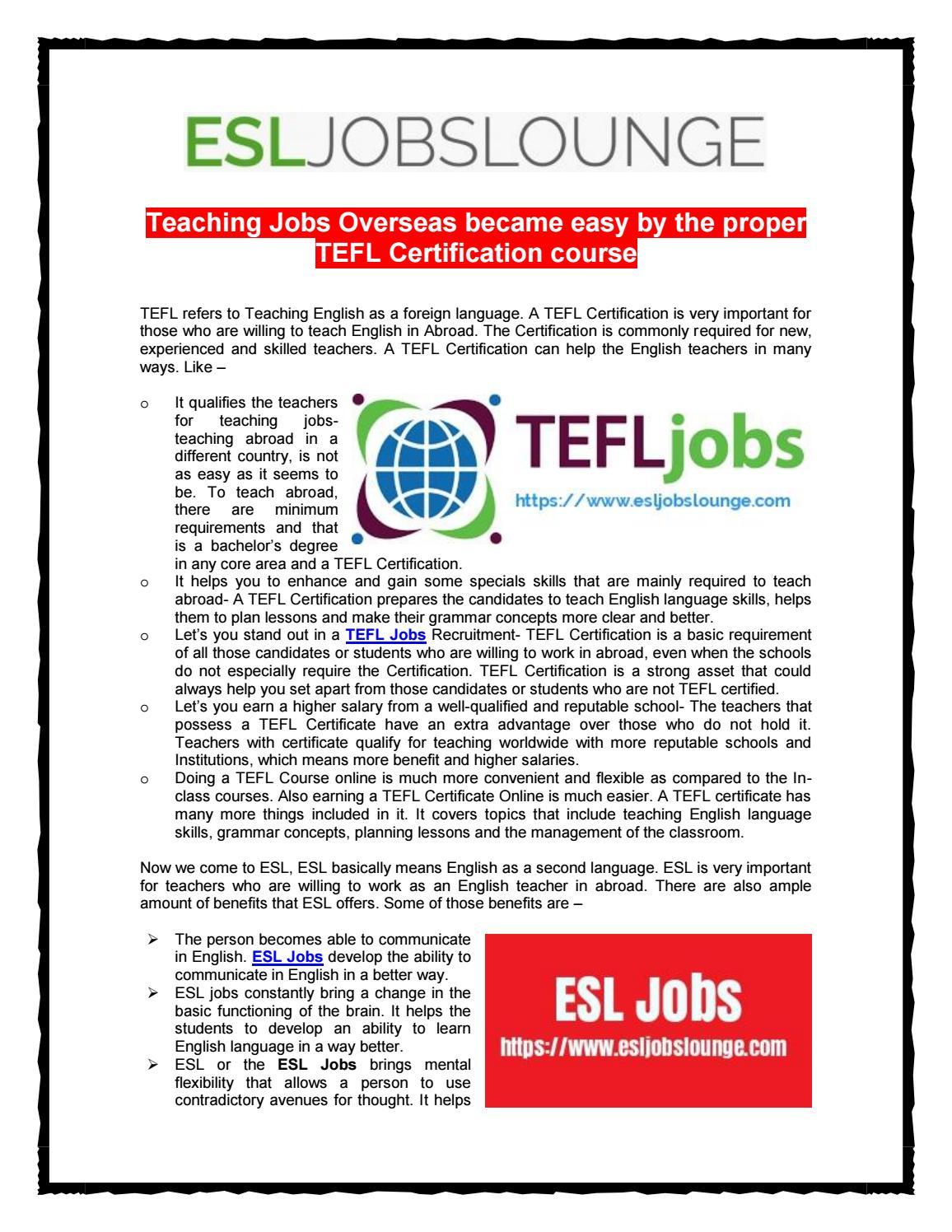 Teaching jobs overseas by esljobs lounge issuu 1betcityfo Choice Image