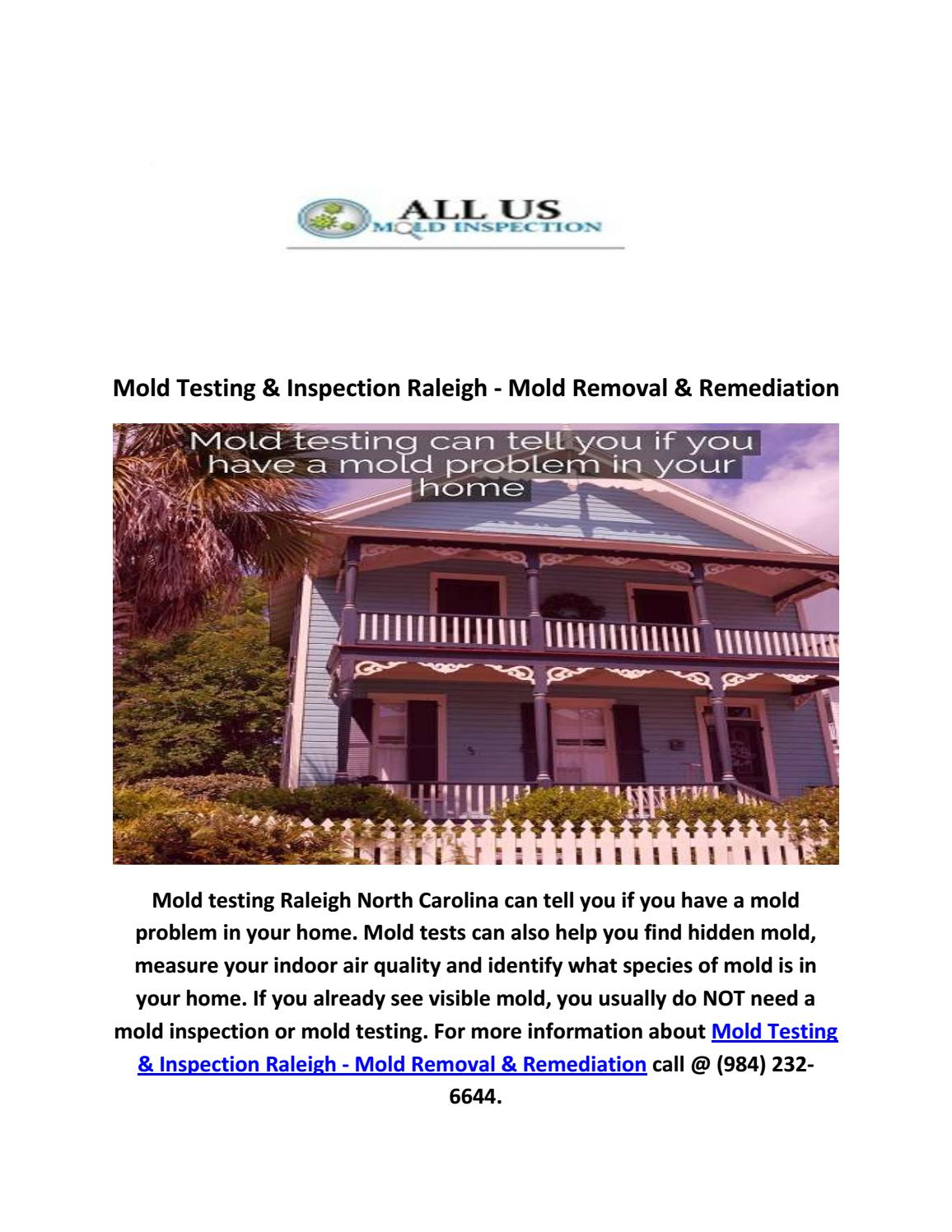 Find A Mold Inspector