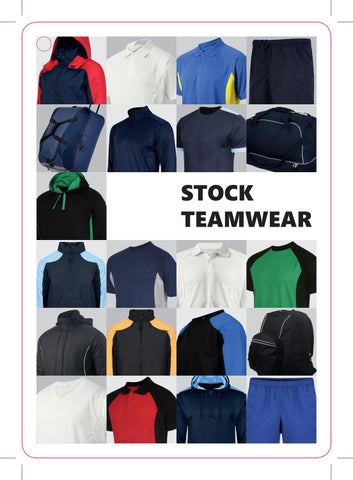 c1fddb4eee1e Stock Teamwear Catalogue by Behrens Sportswear - issuu