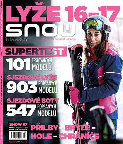 7999c6843f3 SNOW 97 market - lyžařské vybavení 16-17 by SNOW CZ s.r.o. - issuu