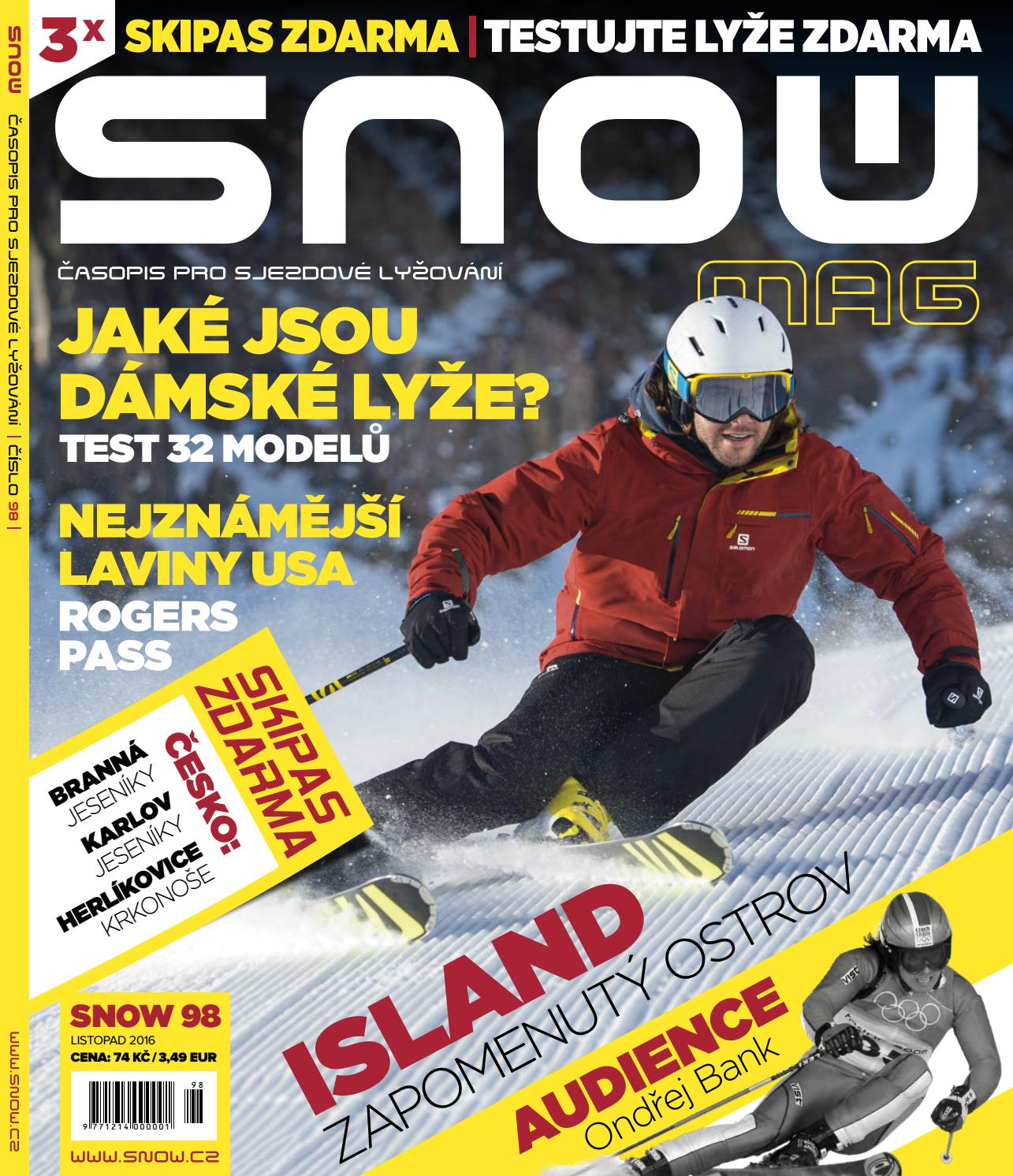 SNOW 98 - listopad 2016 by SNOW CZ s.r.o. - issuu 649b90b7ba