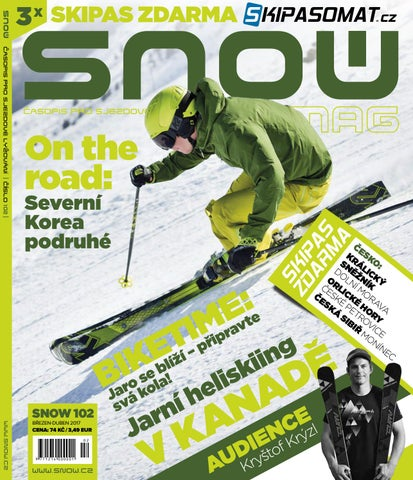092d0a3c5db SNOW 102 - březen 2017 by SNOW CZ s.r.o. - issuu