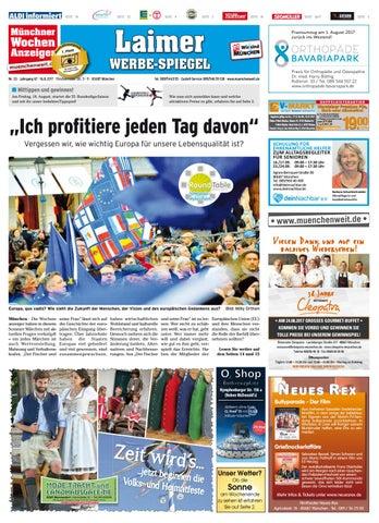 Der Sitzmacher kw 33 2017 by wochenanzeiger medien gmbh issuu