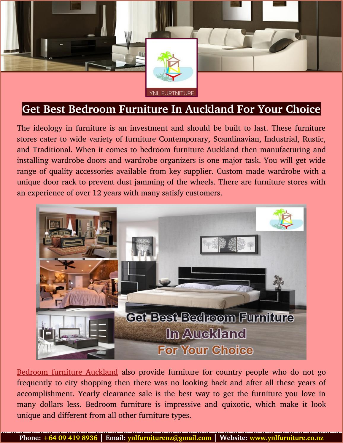 Get best bedroom furniture in auckland for your choice by ...