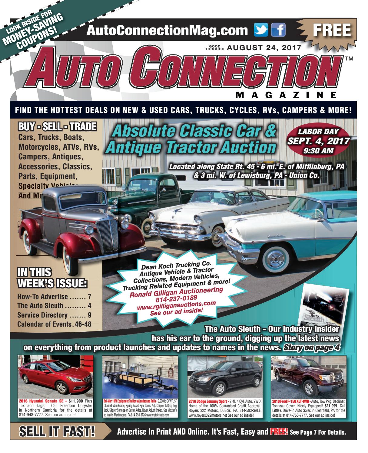 sc 1 st  Issuu & 08-24-17 Auto Connection Magazine by Auto Connection Magazine - issuu
