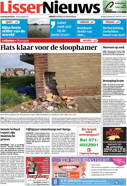 ln week 33 17 by uitgeverij verhagen issuu