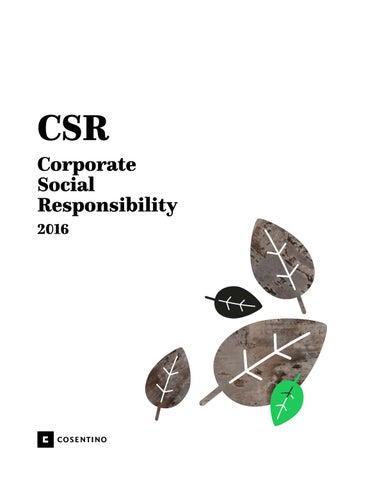 Cosentino Corporate Social Responsibility By Cosentino Issuu