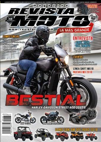 6347cce414c2 Edición 168 Julio by Revista Moto - issuu