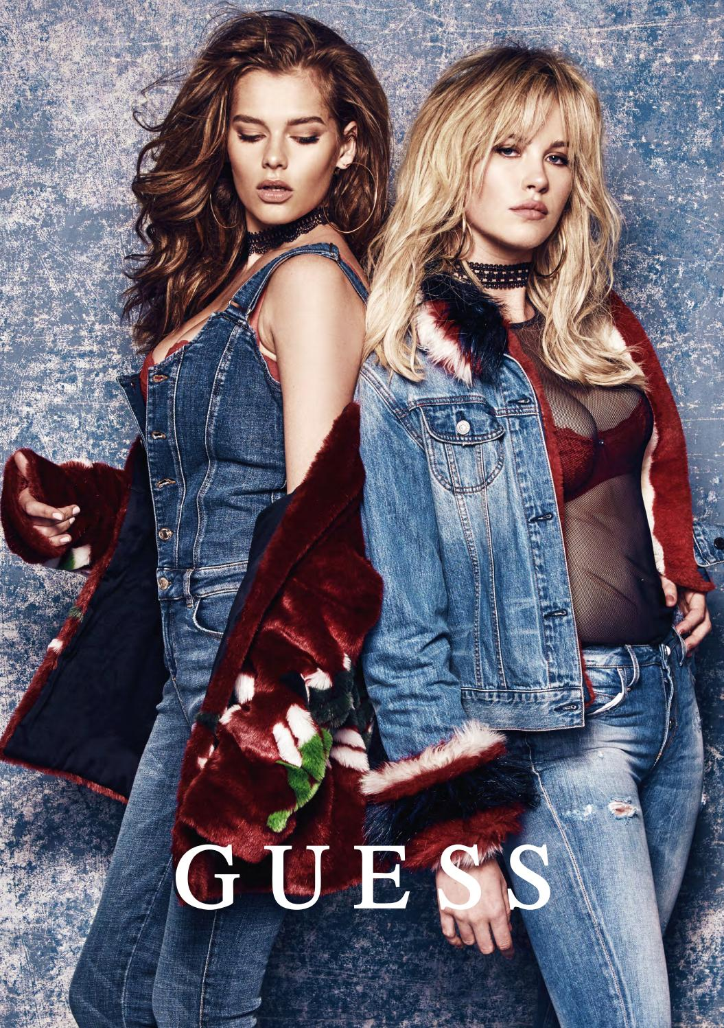 Guess Europe Fall Winter 2017 By Guess Issuu