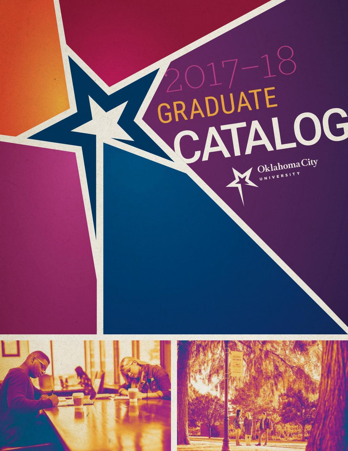 Okcu graduate catalog 2017 18 by oklahoma city university issuu falaconquin