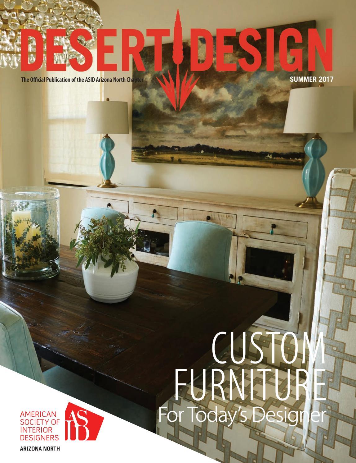 Desert Design Magazine Summer 2017 By Arizona North Chapter Of Asid