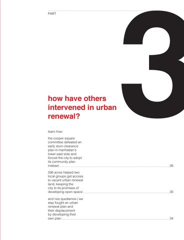 Page 25 of How have others intervened in urban renewal?