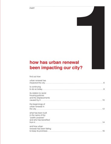 Page 7 of How has urban renewal been impacting our city?