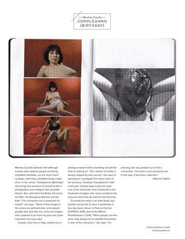 Page 12 of Marilisa Cosello COMPLEANNO (BIRTHDAY)