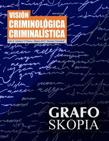 8 grafo skopia revista enero marzo 2017 by Visión Criminológica ...