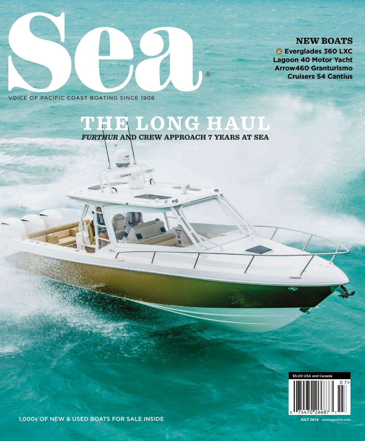 July 2016 Sea Magazine By Duncan Mcintosh Company Issuu Bayliner Capri Volvo Penta Fuel Filter Location