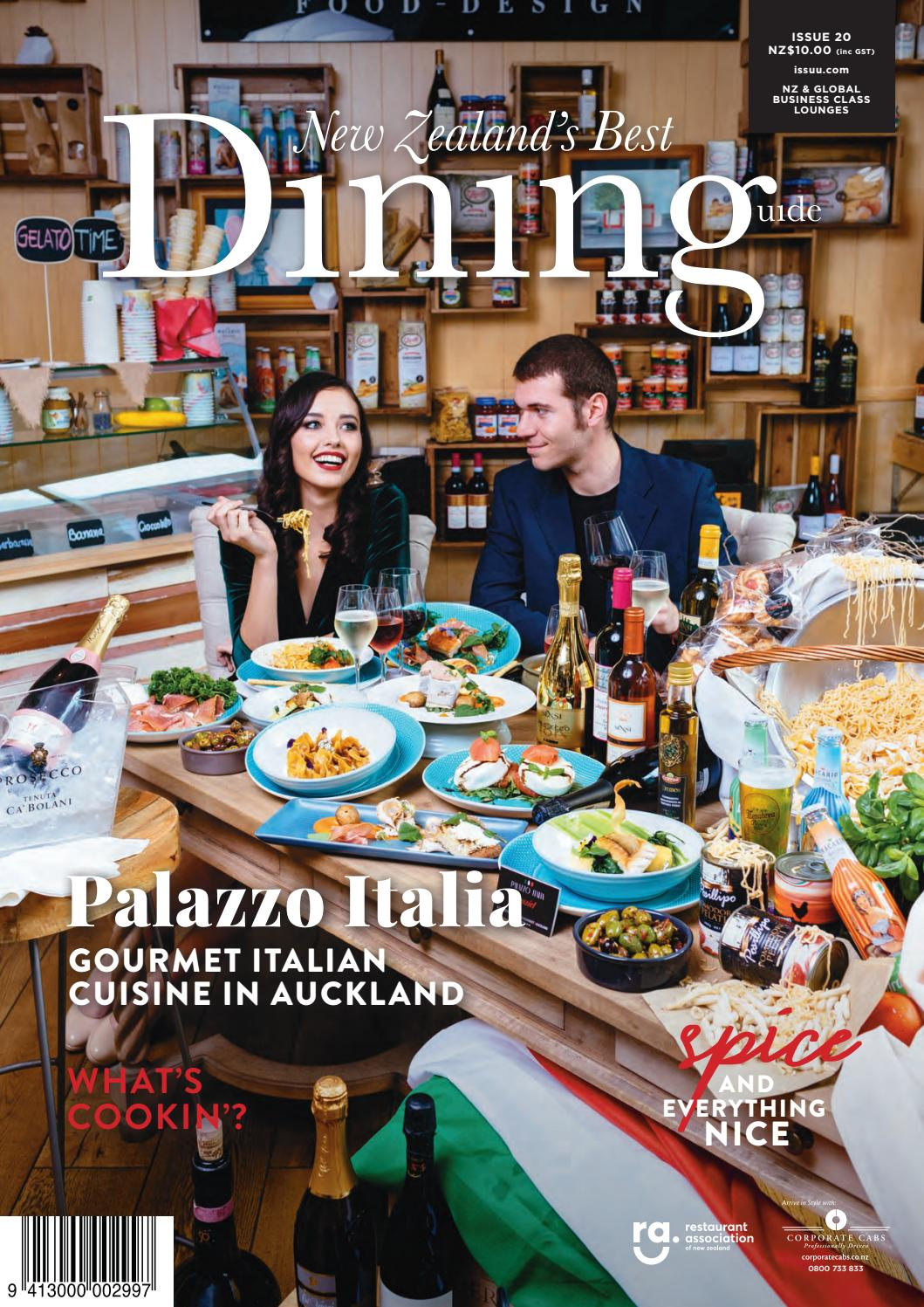new zealand u0027s best dining guide 2017 issue 20 by multi media