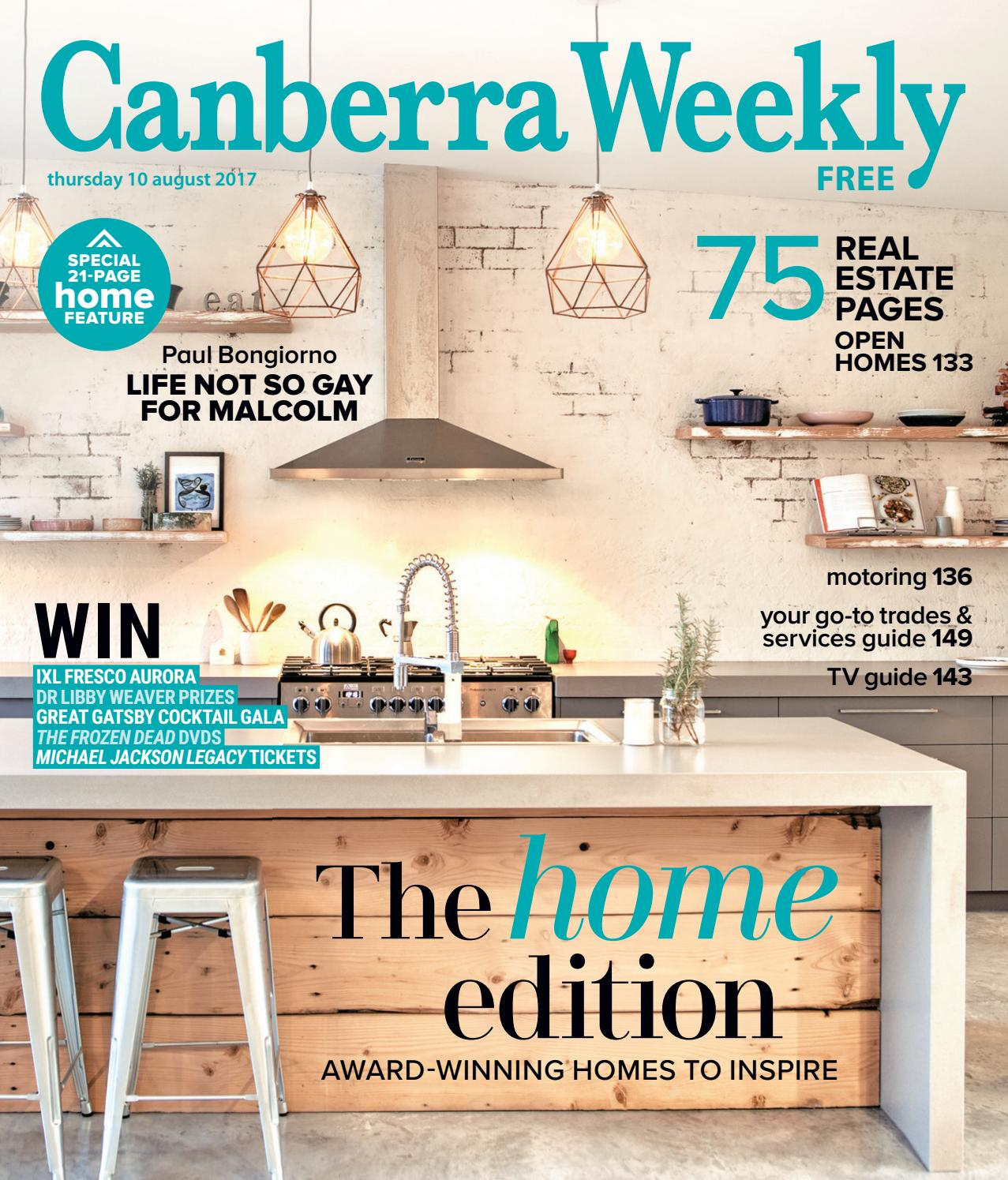 31b680452444 10 August 2017 by Canberra Weekly Magazine - issuu