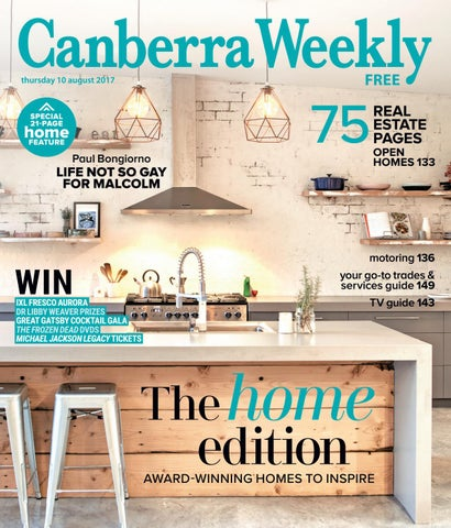 Sensational 10 August 2017 By Canberra Weekly Magazine Issuu Unemploymentrelief Wooden Chair Designs For Living Room Unemploymentrelieforg