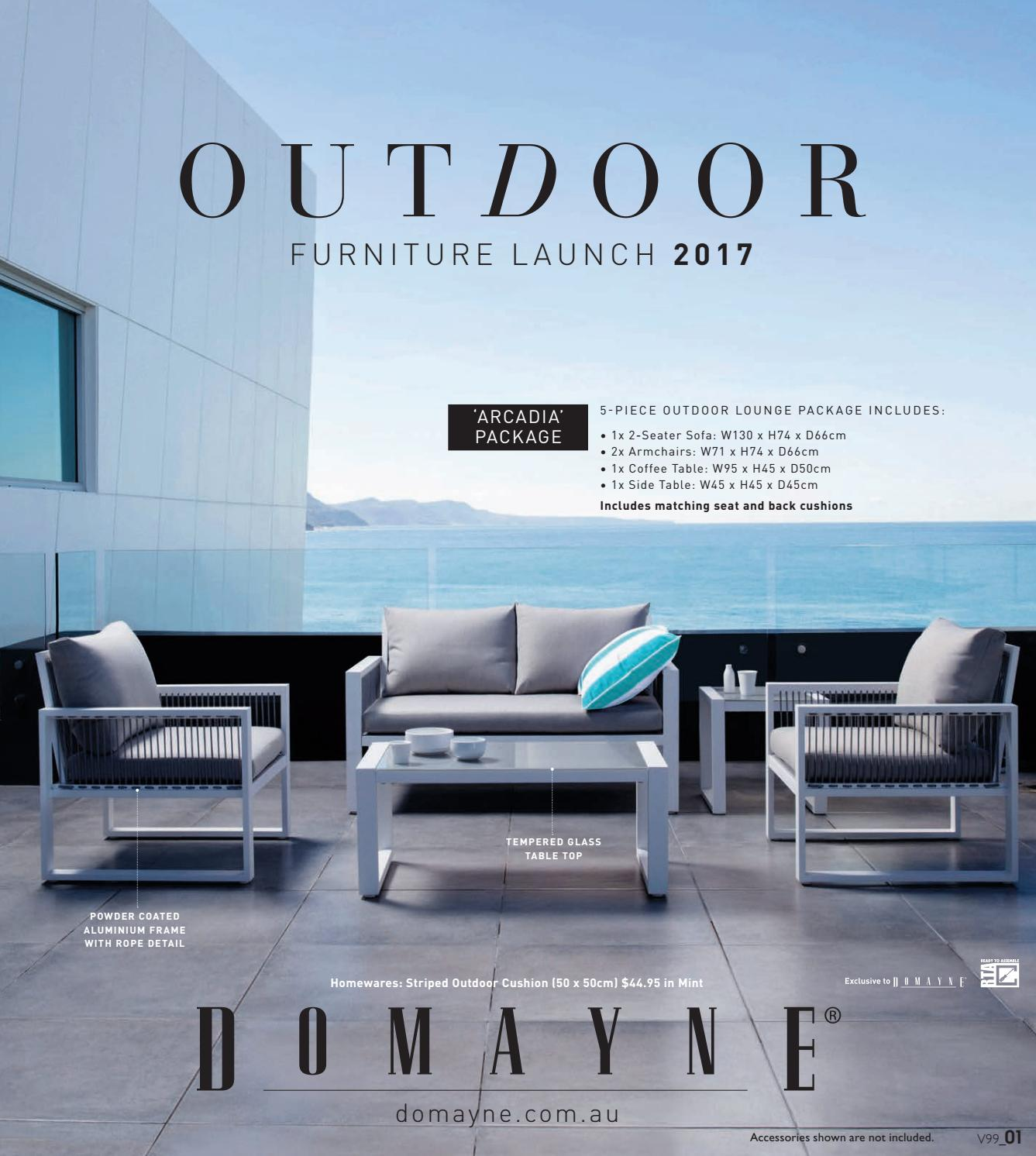 Outdoor furniture launch 2017