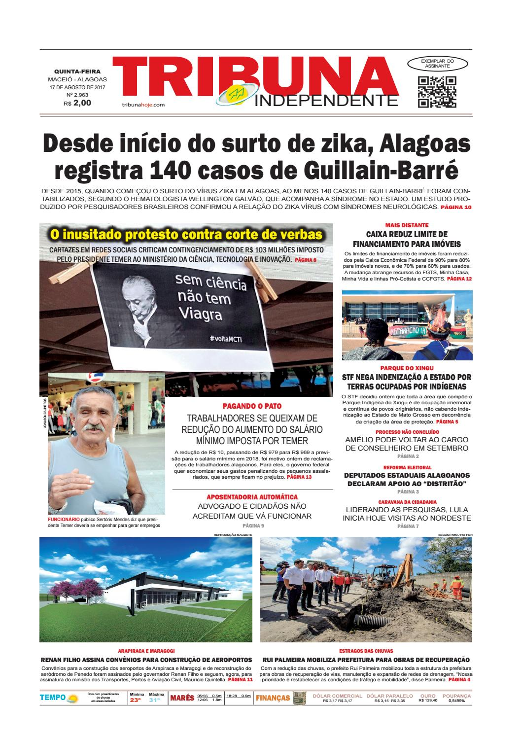 44ce70434 Edição número 2963 - 17 de agosto de 2017 by Tribuna Hoje - issuu