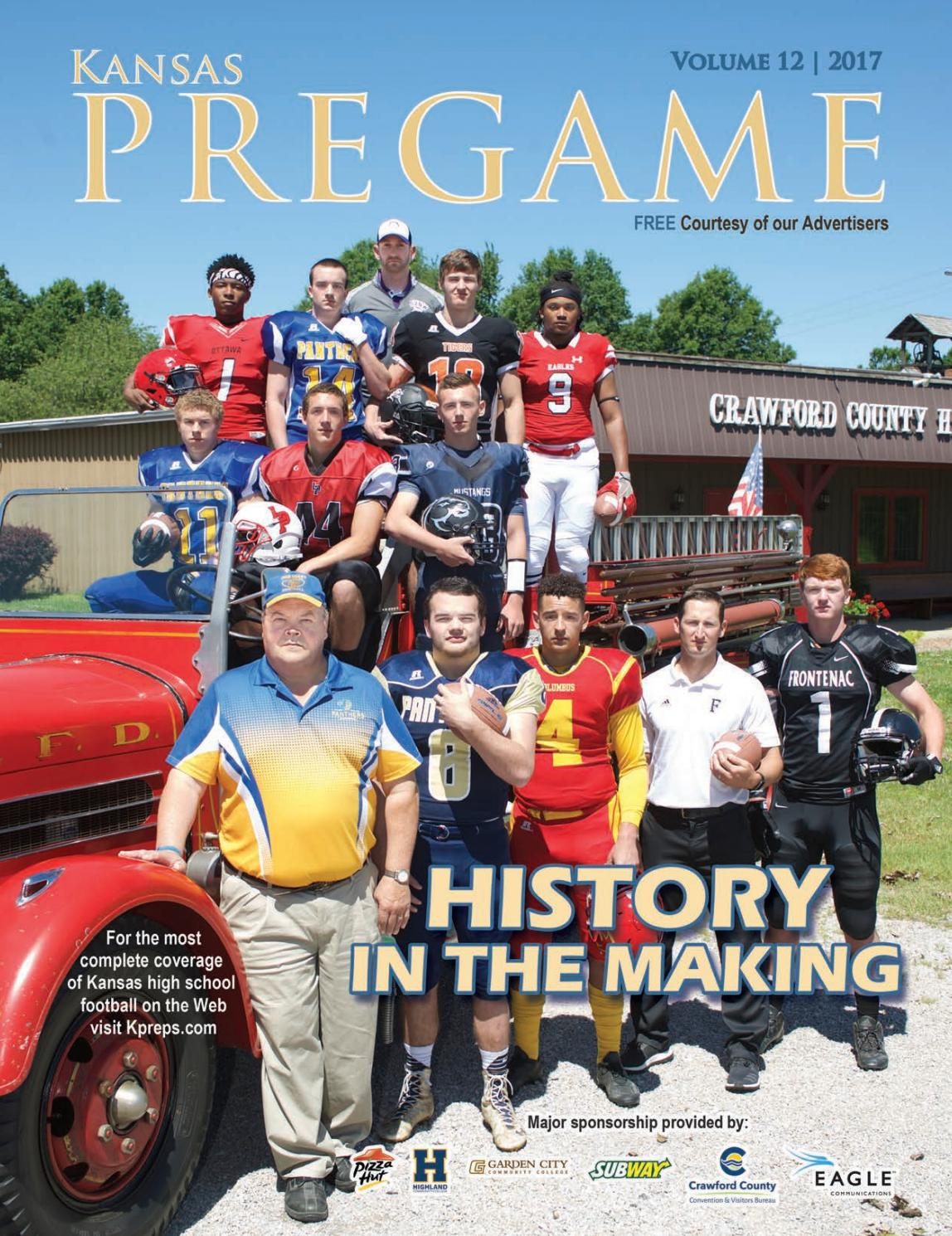 Kansas Pregame Football Preview 2017 by Sixteen 60 Publishing Co