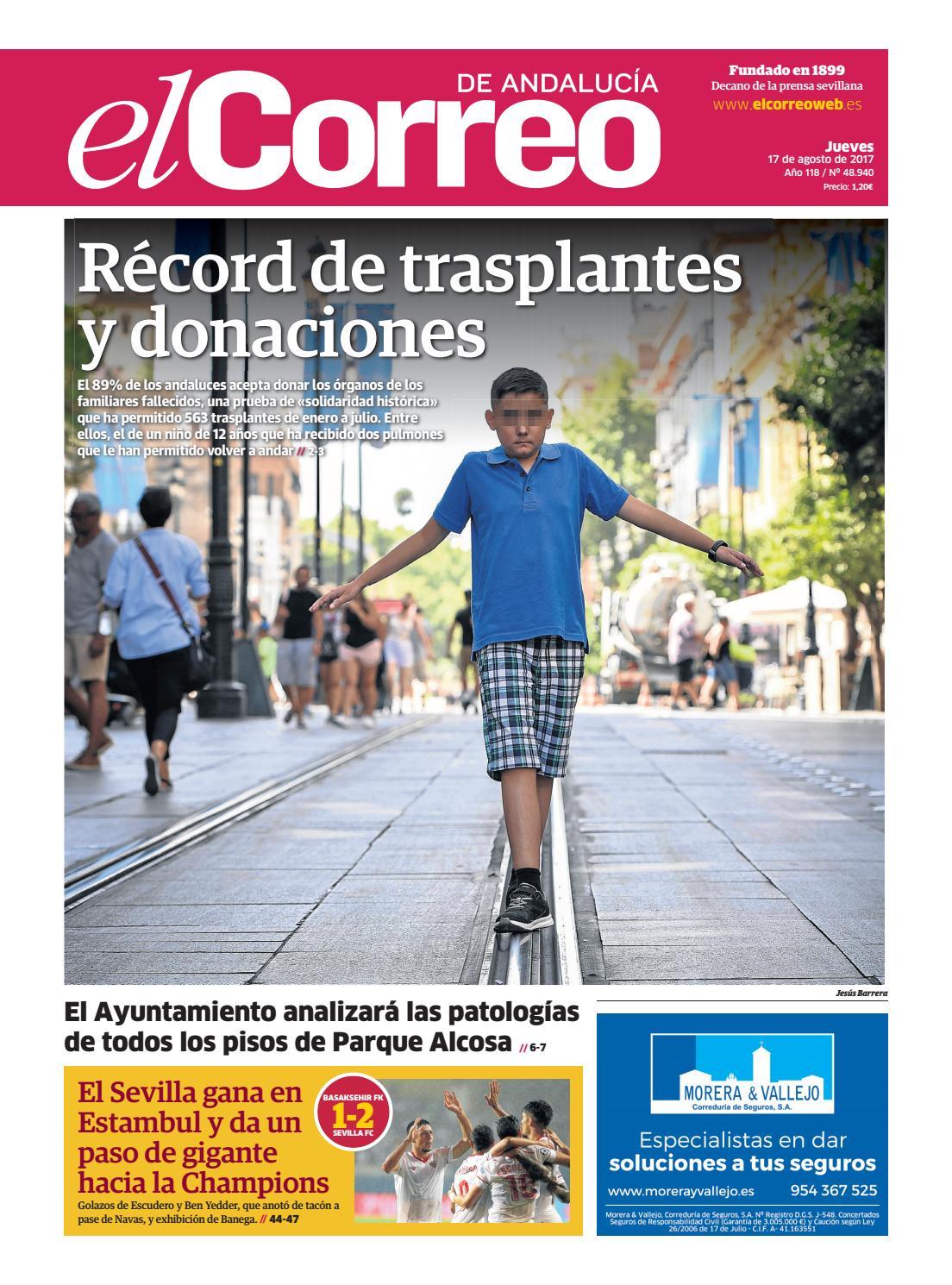 af2602f7d6 17.08.2017 El Correo de Andalucía by EL CORREO DE ANDALUCÍA S.L. - issuu