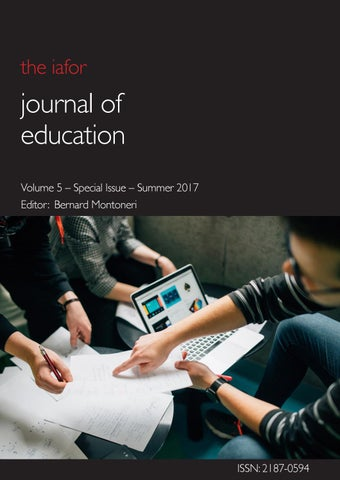 Iafor journal of education volume 5 special issue by iafor issuu page 1 fandeluxe