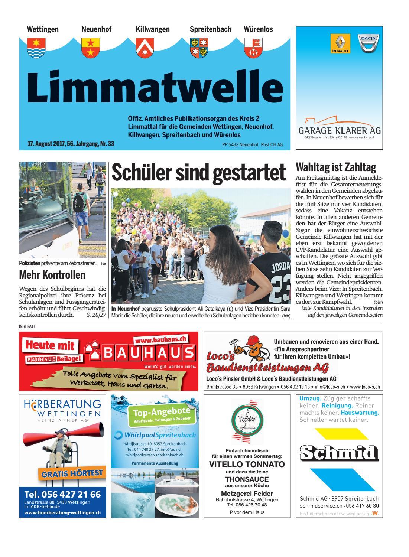 Infoblatt 3 01 - STV Wettingen