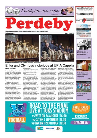 14 august 2017 issue 12 year 79 by perdeby issuu page 1 fandeluxe Images
