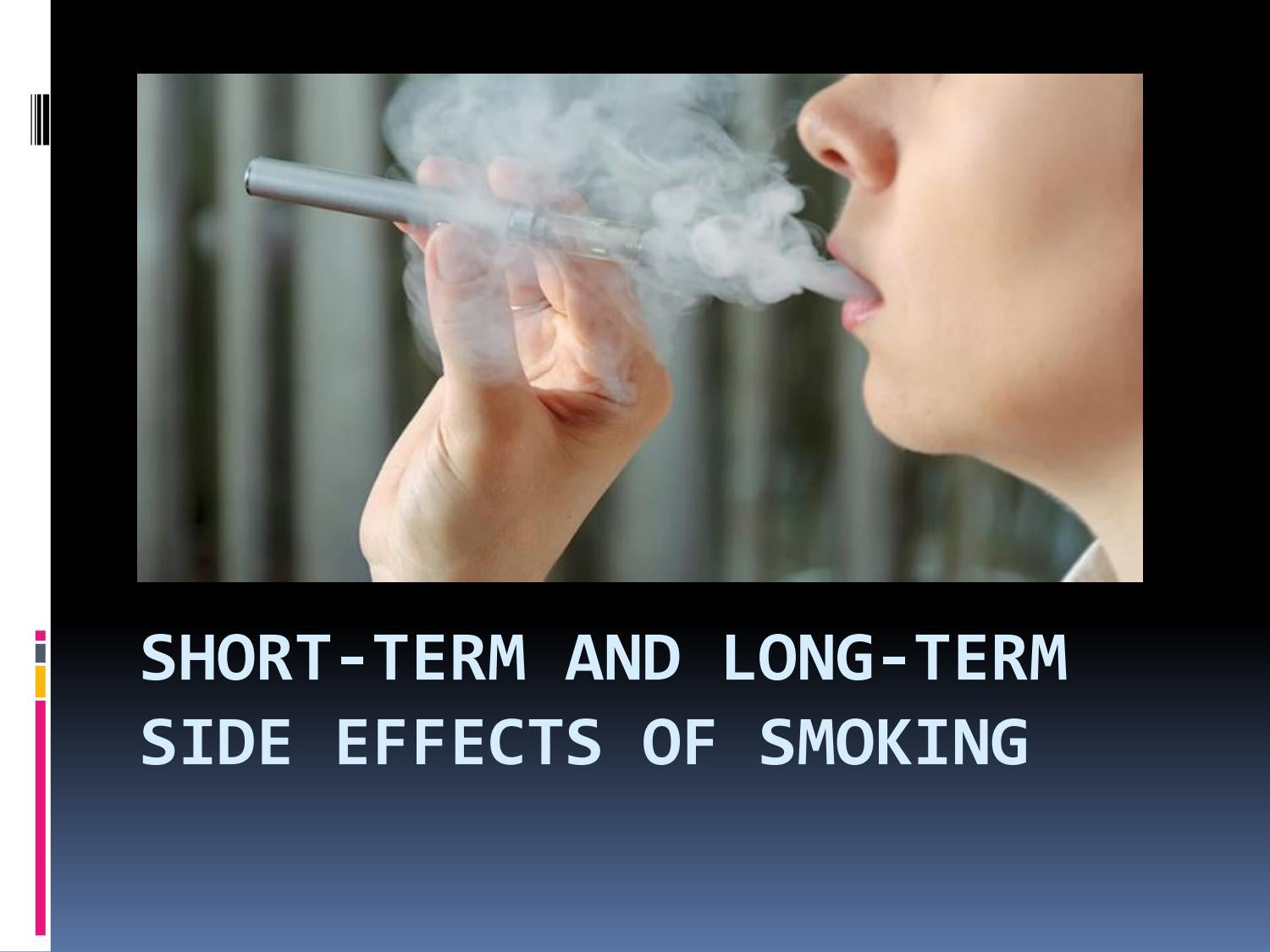 effects of smoking term paper