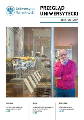 Przegląd Uniwersytecki Wrocław R23 Nr 1 216 2017 By