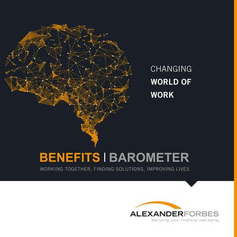 Benefits Barometer 2017 by Alexander Forbes Comms - issuu