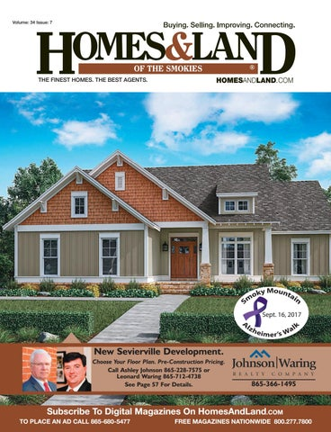 Sensational Homes Land Of The Smokies Vol 34 Issue 7 By Homes Land Onthecornerstone Fun Painted Chair Ideas Images Onthecornerstoneorg