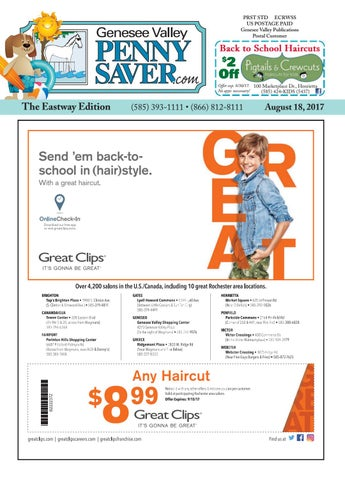 The Genesee Valley Penny Saver Eastway Edition 8 18 17 By