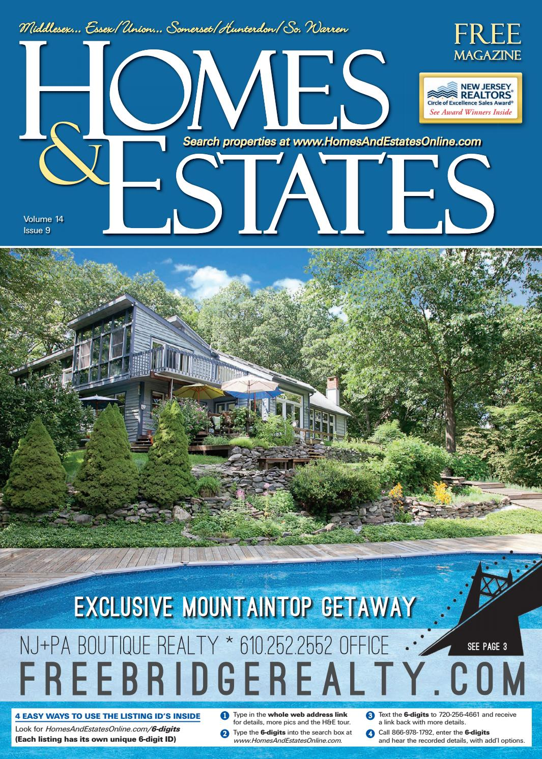 Homes And Estates Magazine Central NJ Edition - August 17