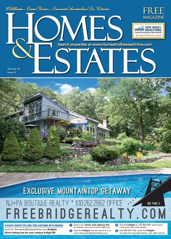 Homes And Estates Magazine Central NJ Edition - August 17, 2017 by ...