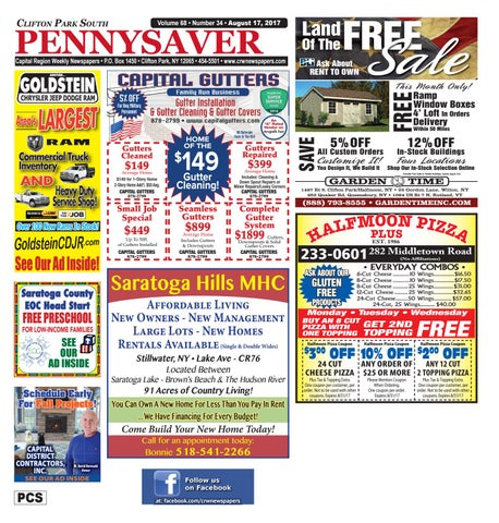 Clifton Park South Pennysaver 081717
