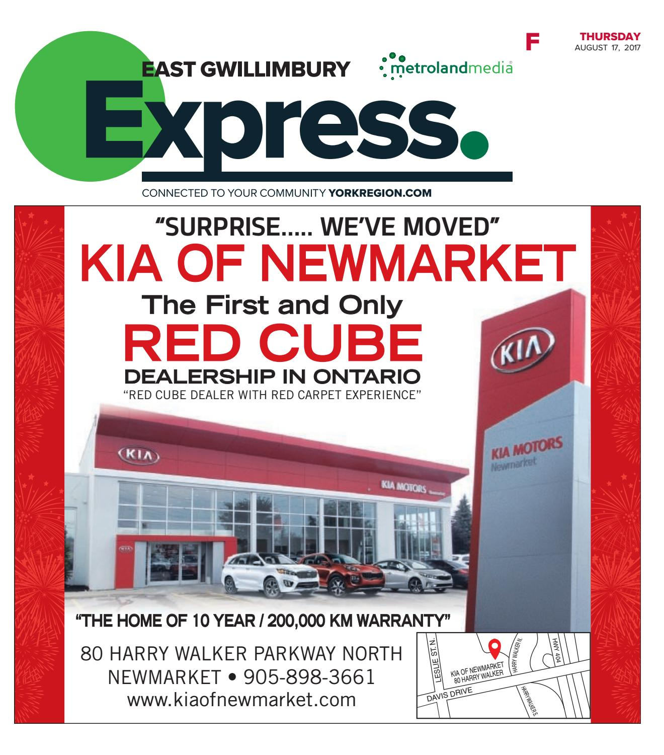 East Gwillimbury Express, August 17, 2017 by East