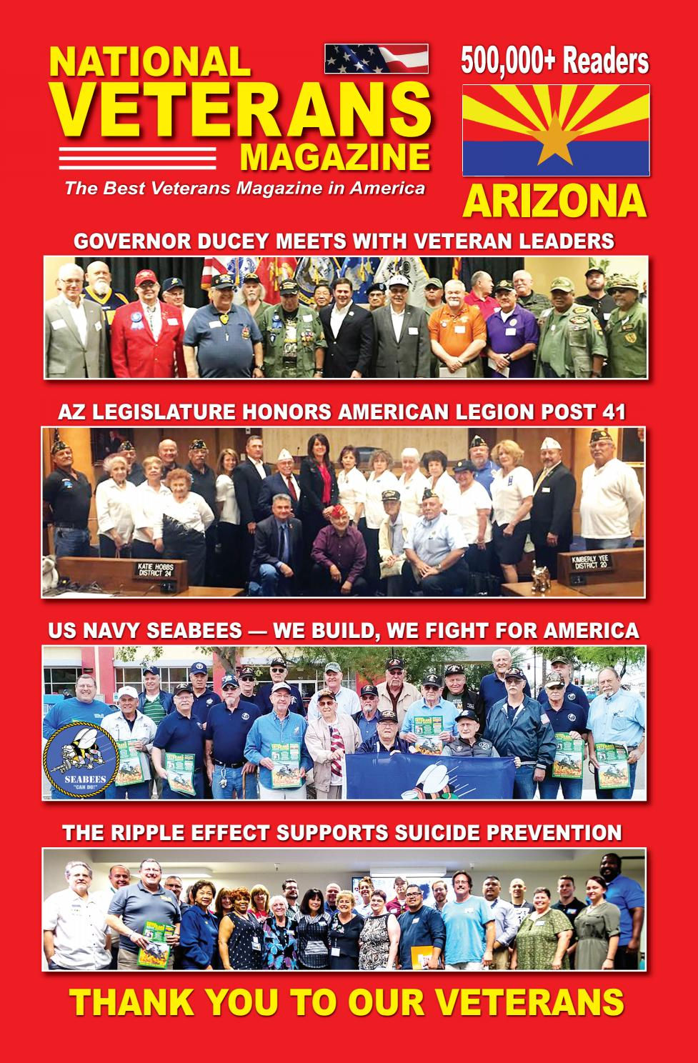 National Veterans Magazine - Arizona by Mark Field - issuu