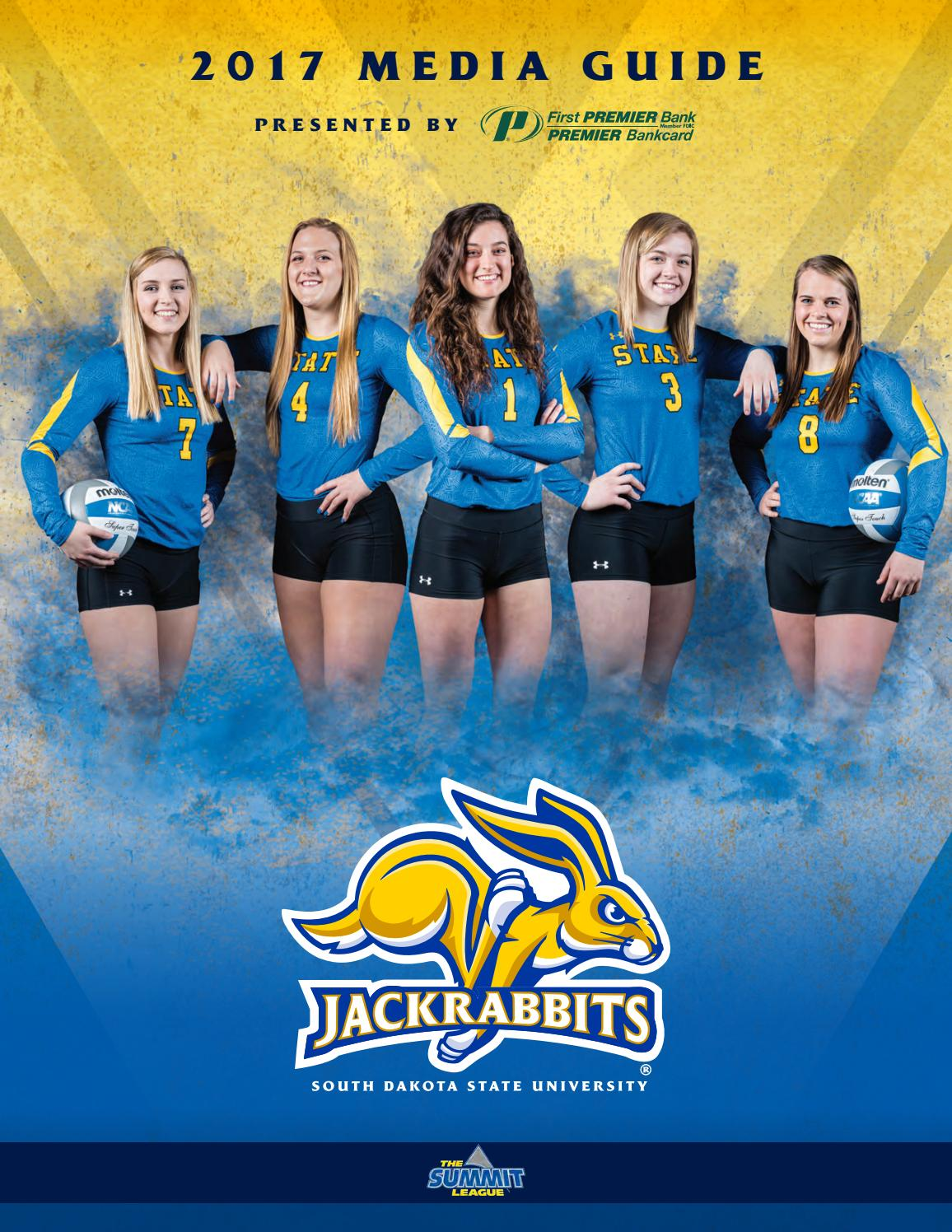 2017 South Dakota State Volleyball Media Guide by South ...