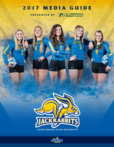 543930fdea3 2017 South Dakota State Volleyball Media Guide by South Dakota State ...
