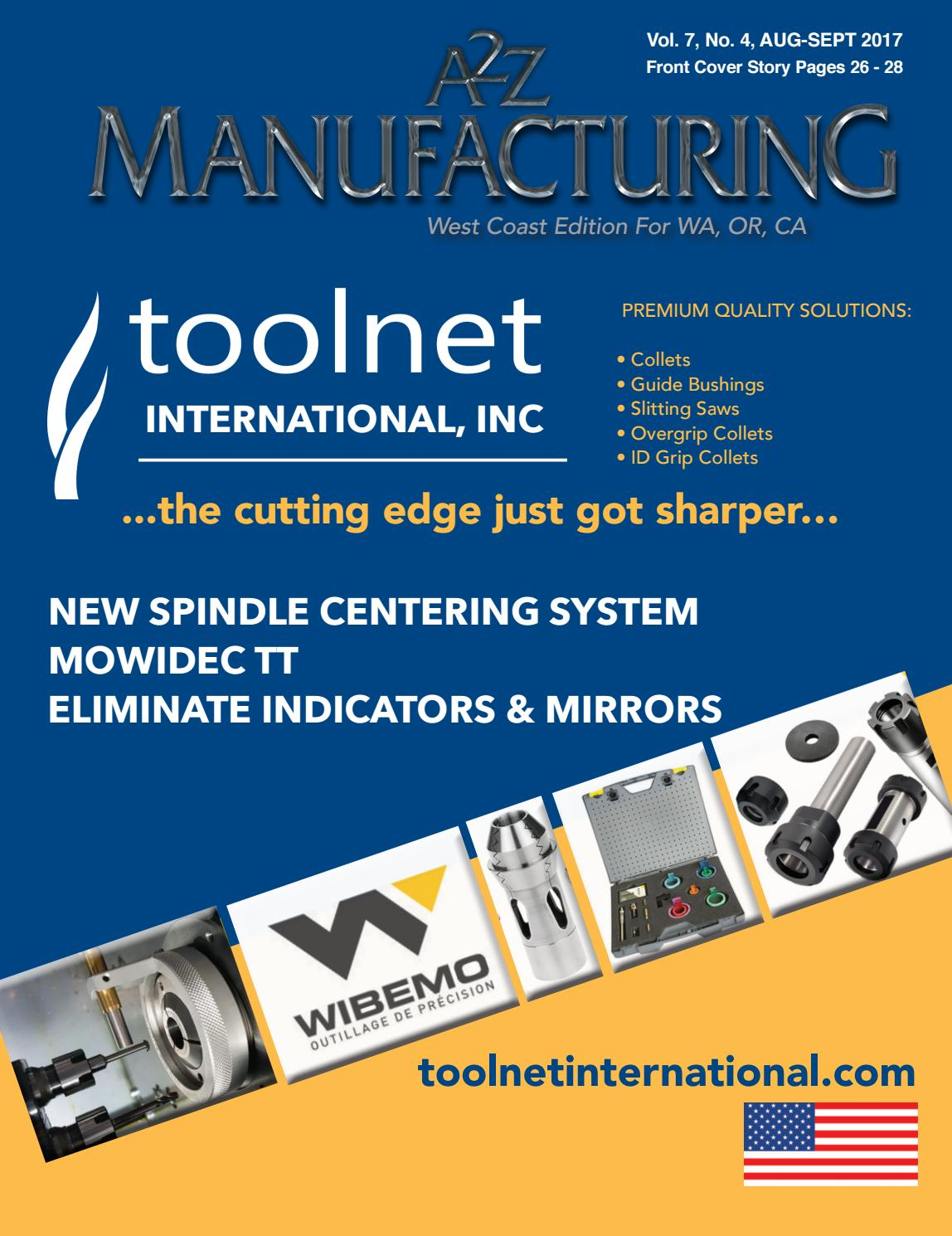 A2Z manufacturing west coast aug sept by A2Z Manufacturing