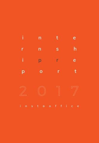 Internship Report 2017 Instaoffice By Tripti Gupta Issuu