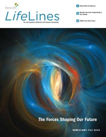 LifeLines Fall 2015 by Biocom - issuu