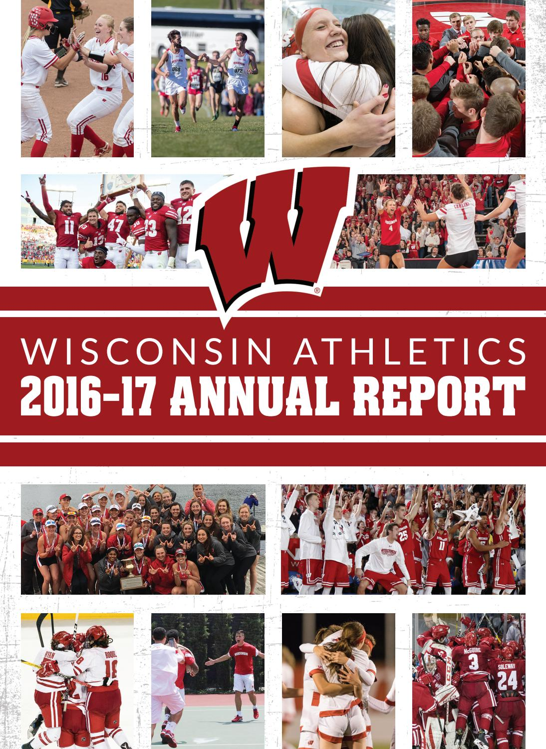 Wisconsin Athletics 2016 17 Annual Report By Wisconsin Badgers Issuu