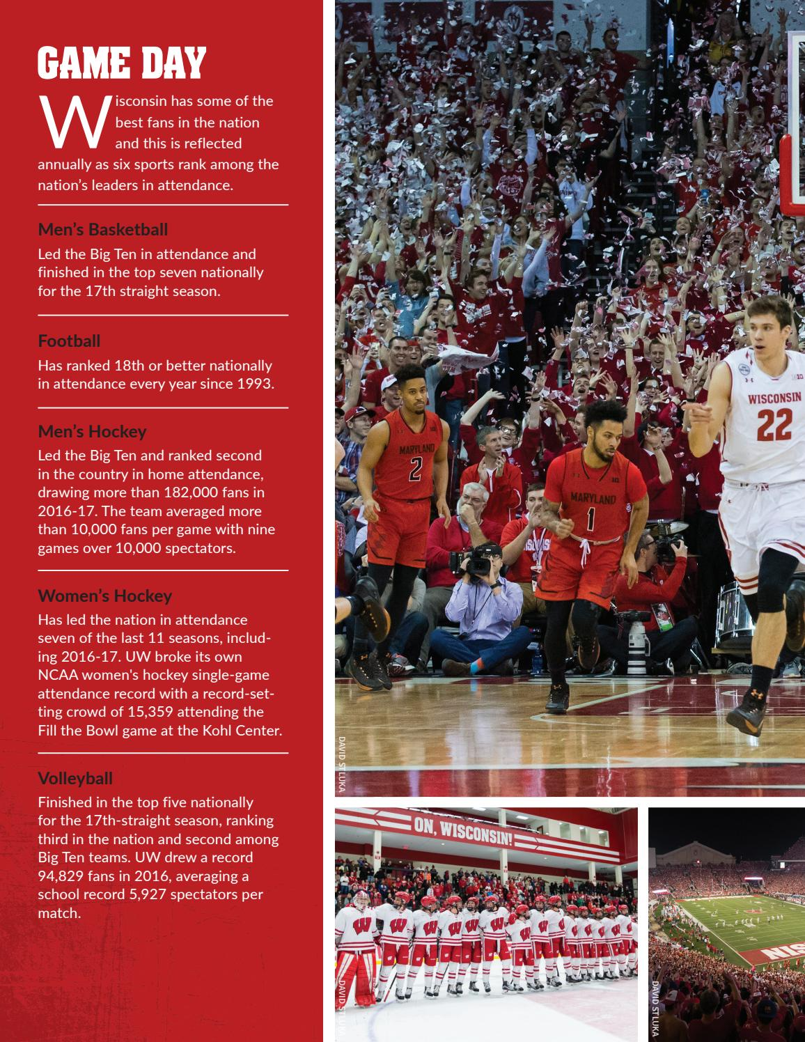 Wisconsin Athletics 2016 17 Annual Report By Wisconsin