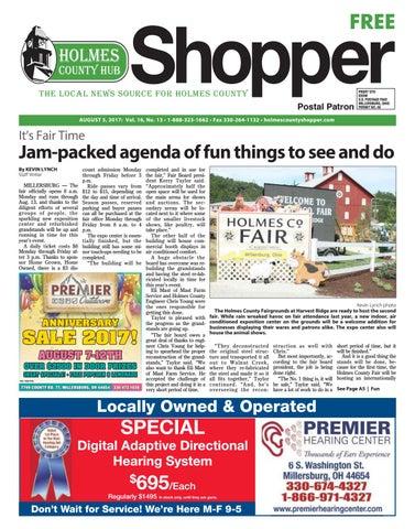 aaab3ebba45 Holmes County Hub Shopper, Aug. 5, 2017 by GateHouse Media NEO - issuu