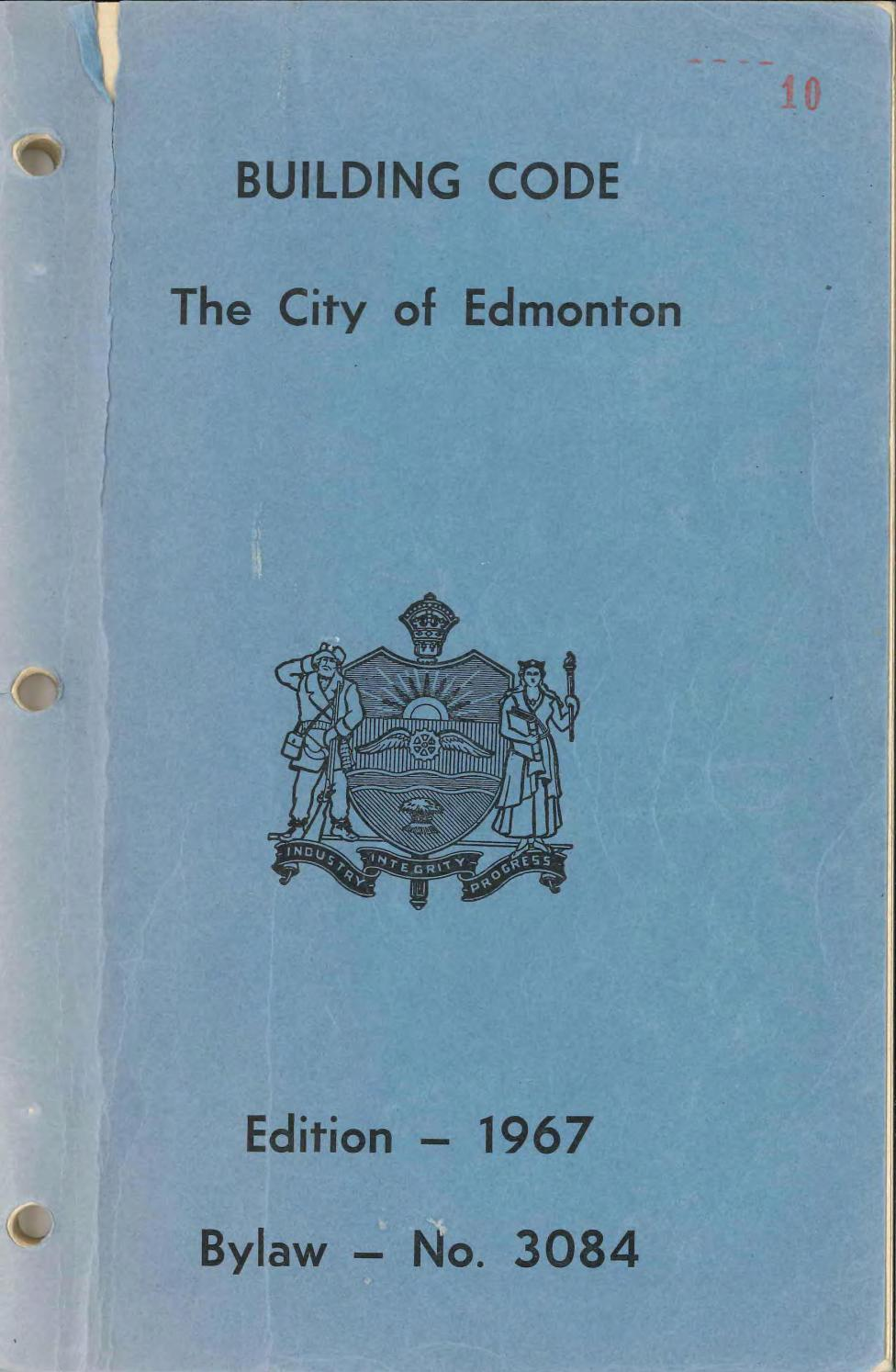 Edmonton (Alta.) - 1968 - Building code, the city of ...