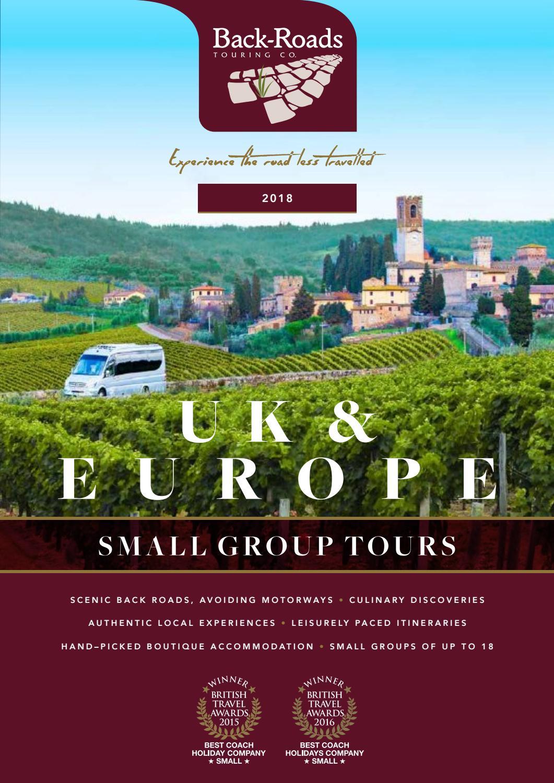 Back Roads Touring 2018 Brochure Nzd By Eurolynx Travel Ltd